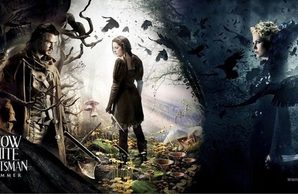 Kristen Stewart s'affiche en Blanche-Neige