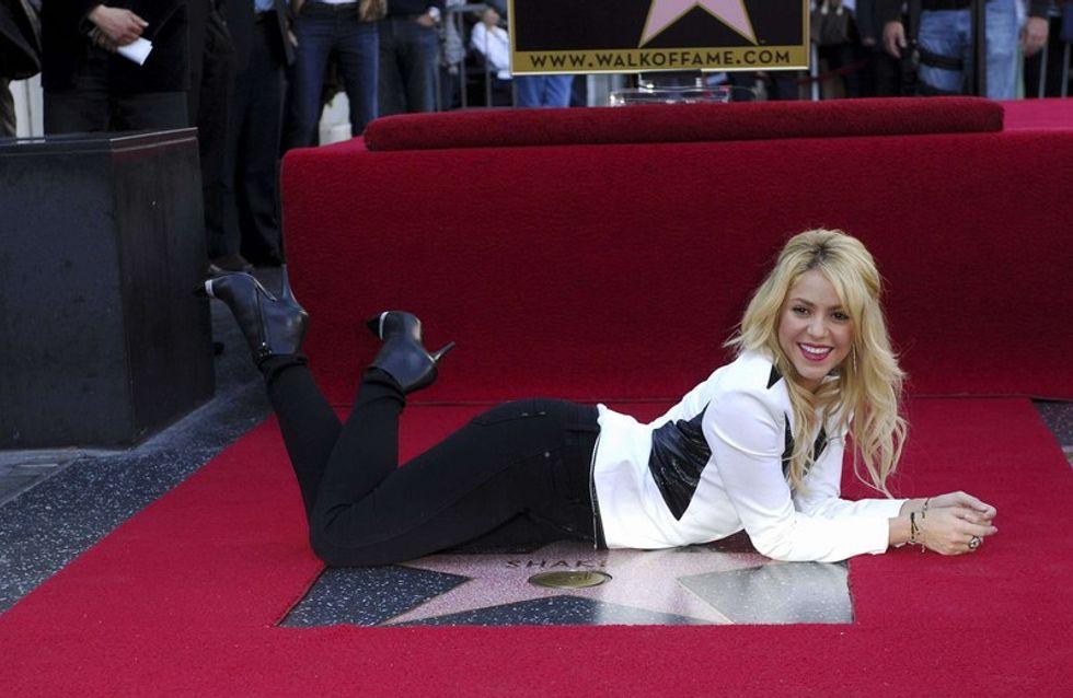 Shakira étoilée sur le Walk of Fame