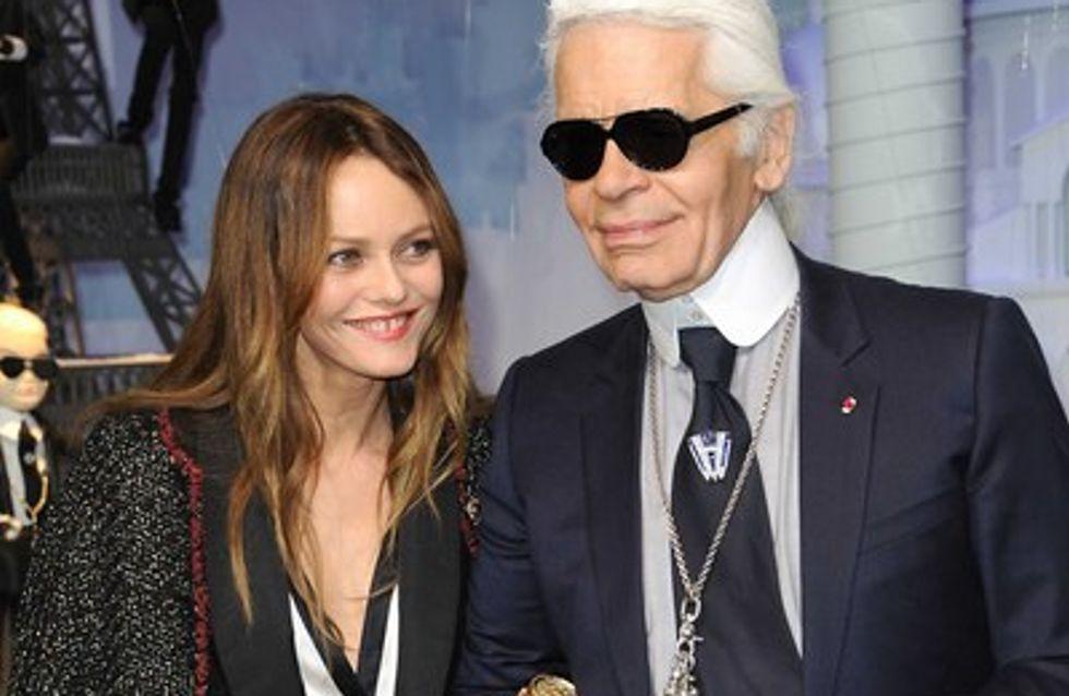 Vanessa Paradis : les photos de ses amplettes avec Karl Lagerfeld