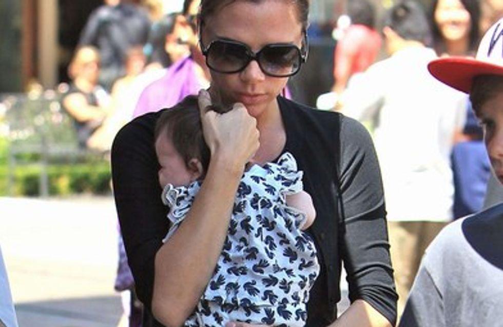 Victoria Bekham : elle couve trop sa fille