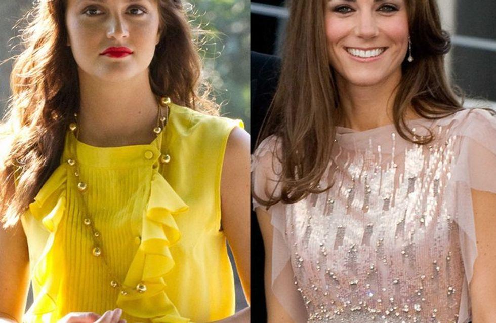 Quand Leighton Meester copie Kate Middleton...