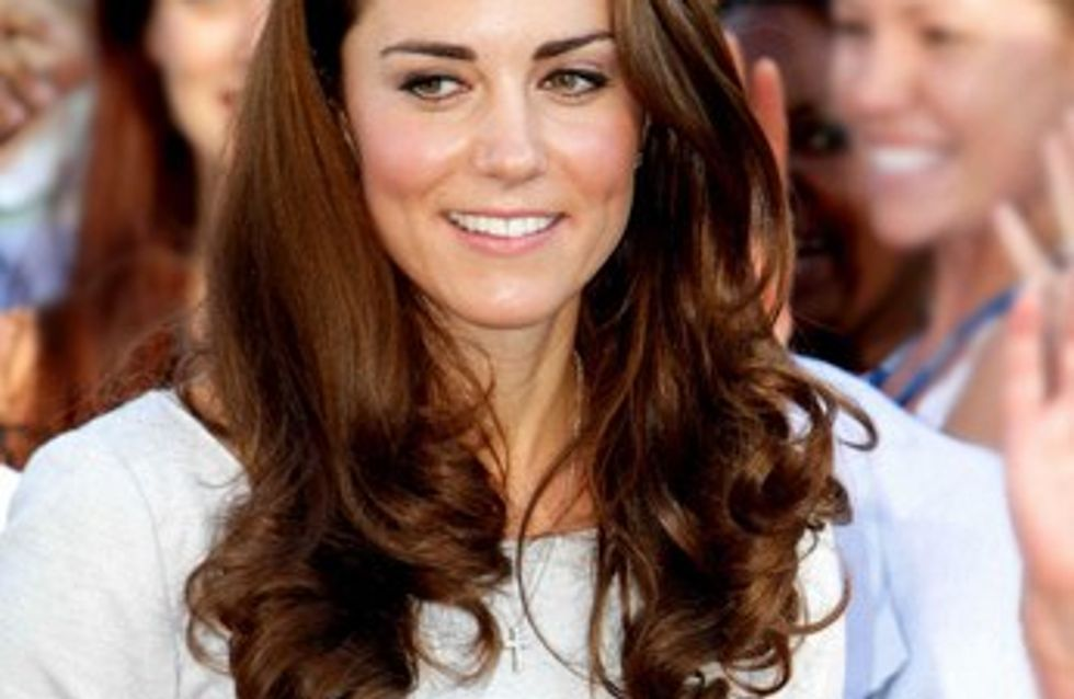 Kate Middleton enceinte : la reine Elisabeth II serait aux anges !