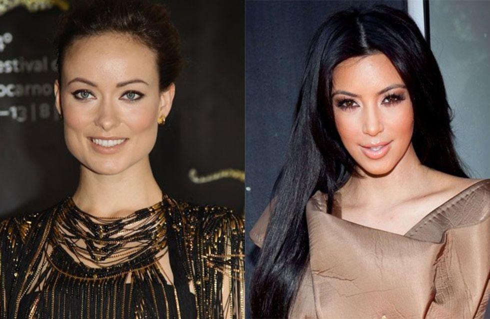Olivia Wilde au secours de Kim Kardashian