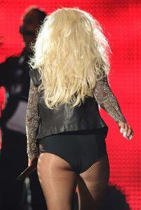 Christina Aguilera obese