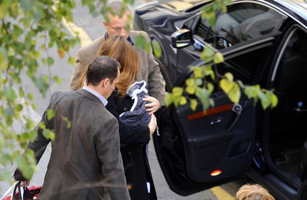 Giulia Sarkozy : un mois déjà et on ne l'a pas encore vue !