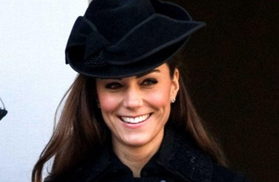 Kate Middleton : cacherait-elle sa grossesse sous ce vilain pull ?