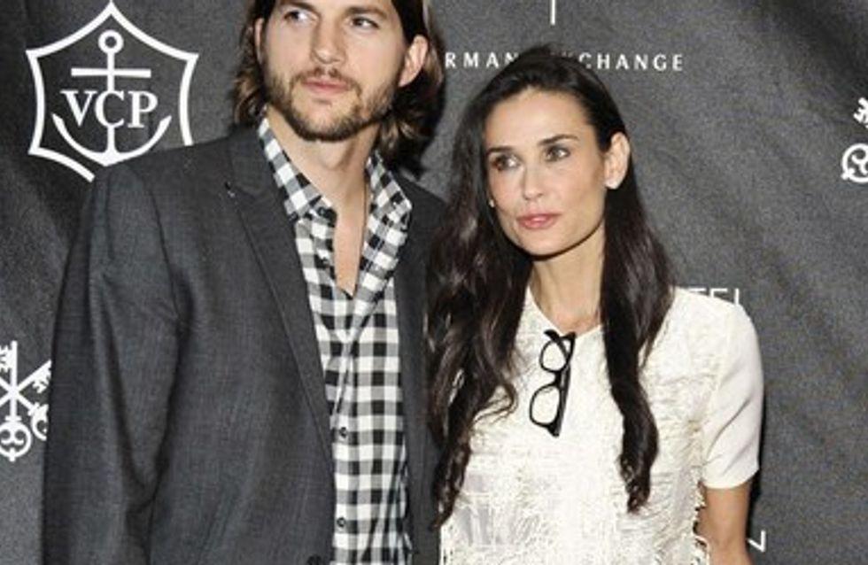 Ashton Kutcher aura tout tenté pour reconquérir Demi Moore