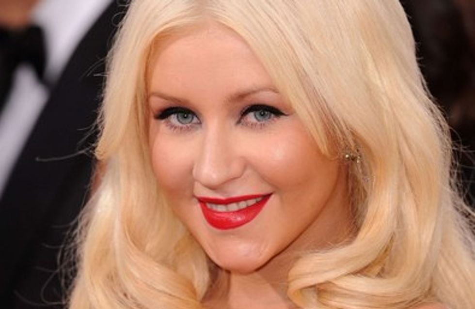 Photo : Christina Aguilera boudinée aux American Music Awards