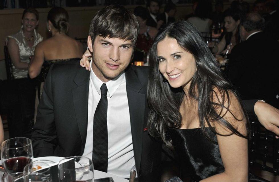 Ashton Kutcher et Demi Moore ensemble ce week-end !