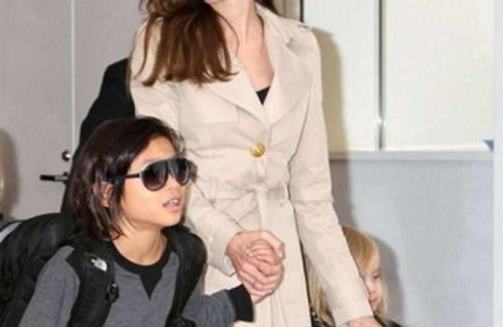 Angelina Jolie : son fils Pax a revu sa famille biologique
