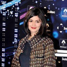 Quand Audrey Tautou illumine les Champs Elysées