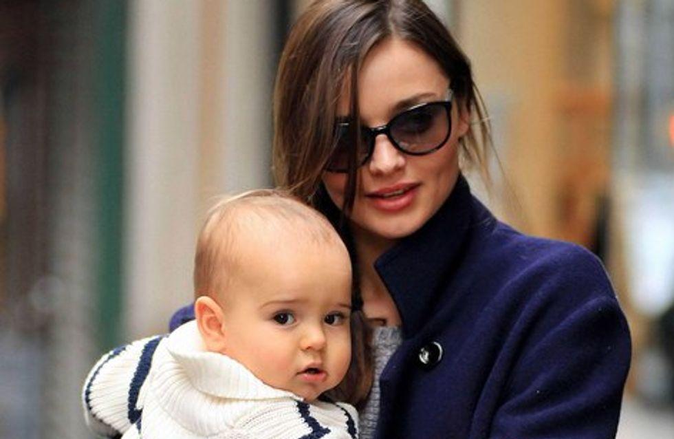 Miranda Kerr : craquante avec son petit Flynn