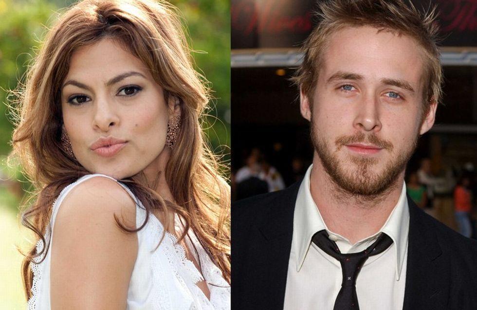 Photos : Eva Mendes et Ryan Gosling fous amoureux à Paris !