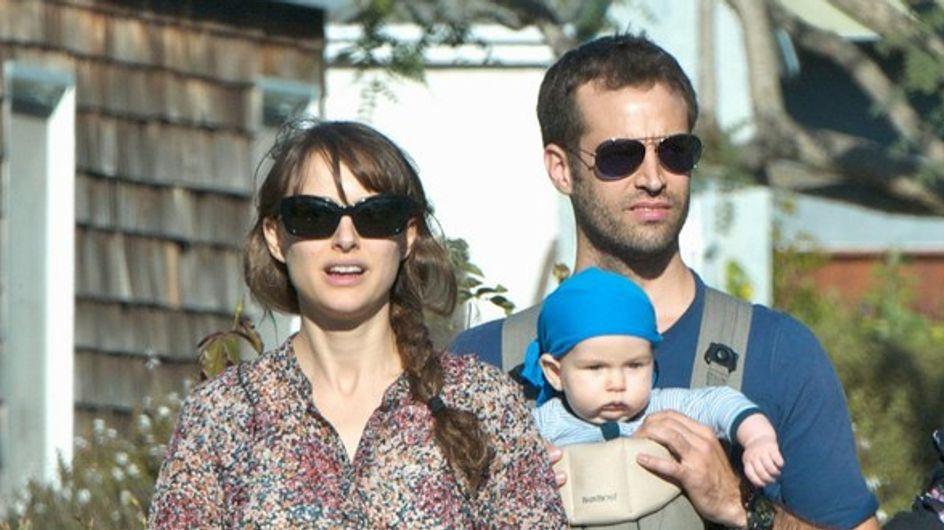 Natalie Portman : les photos de sa sortie avec bébé