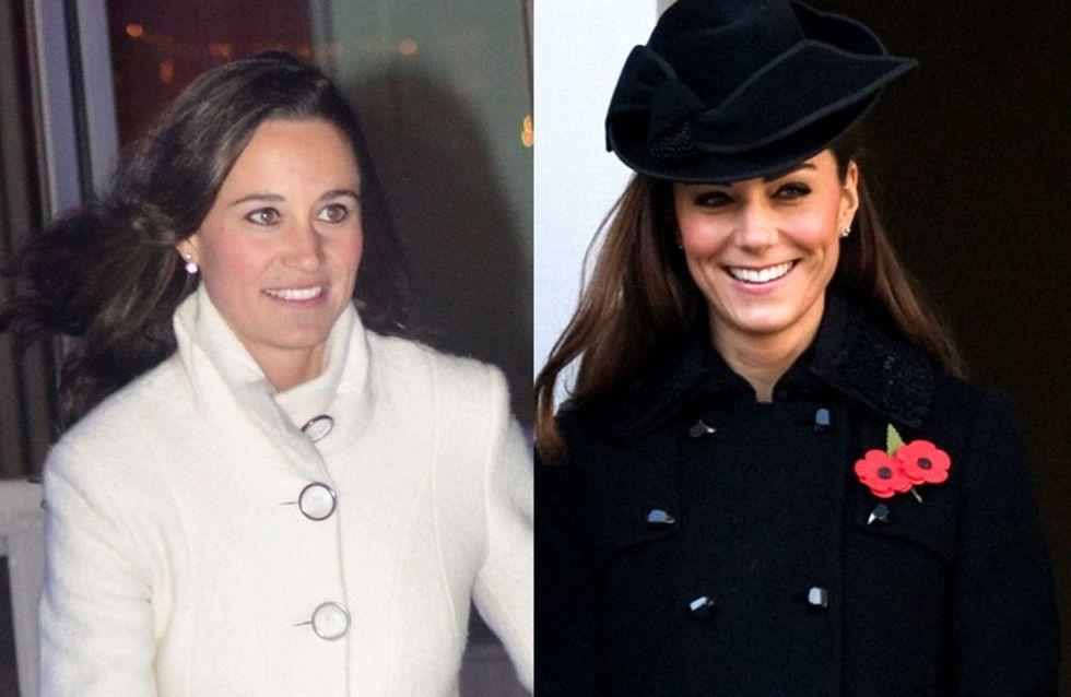 Kate Middleton : Pippa Middleton prend soin d'elle et du bébé