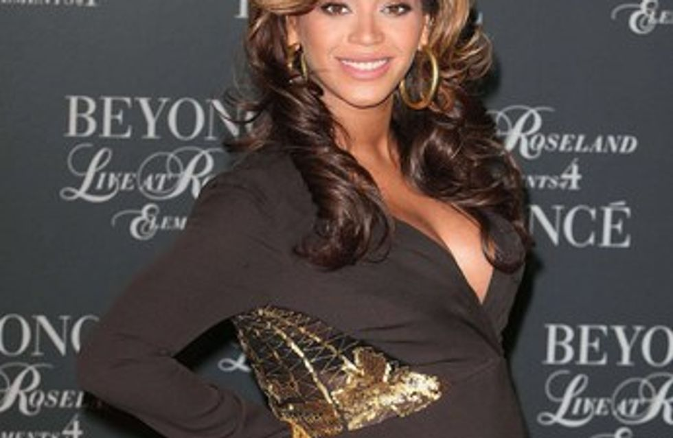 Beyoncé s'amuse de sa grossesse