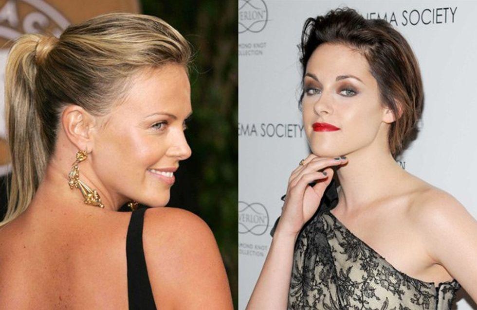 Charlize Theron : elle rêve de tuer Kristen Stewart
