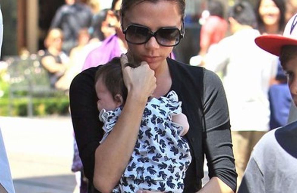 Victoria Beckham : sa petite Harper est déjà une vraie fashionista