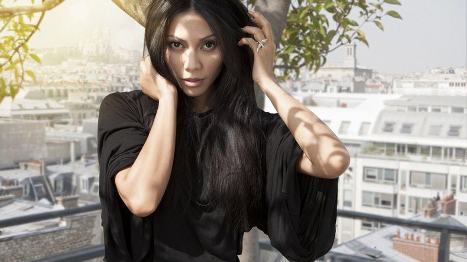 """Anggun : """"Je voudrais chanter en français et en anglais"""""""