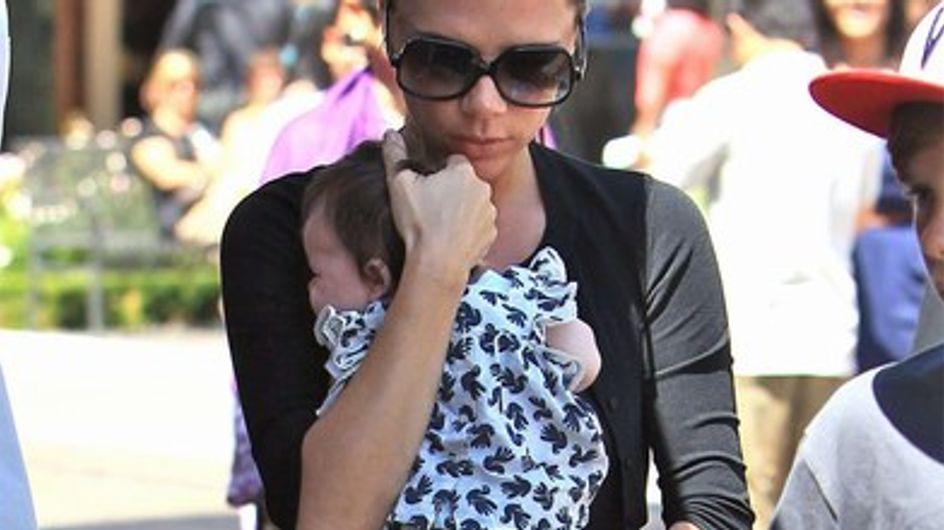 Harper Beckham : ses frères sont fous d'elle