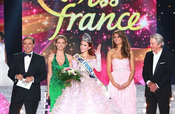 Delphine Wespiser Miss France