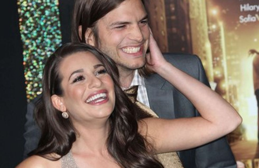 Ashton Kutcher : plus proche que jamais de Lea Michele !