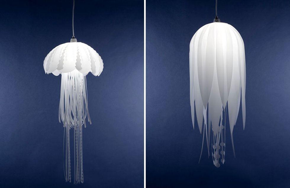 Y se hizo la luz: lámparas de diseño sorprendentes