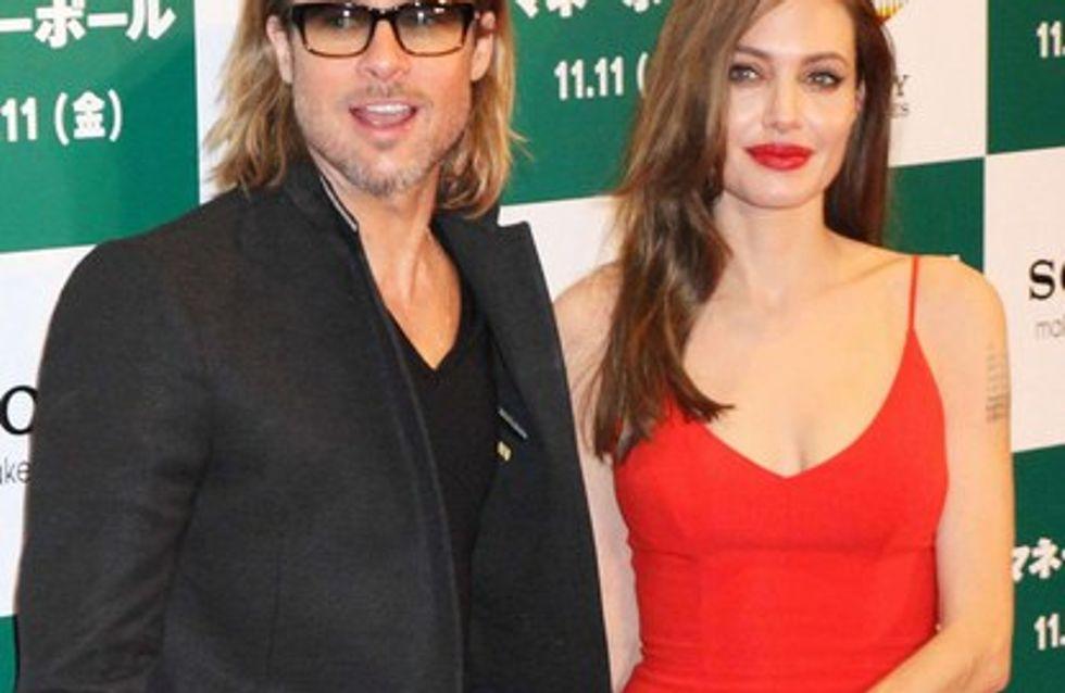 Angelina Jolie et Brad Pitt saoules à une fête !