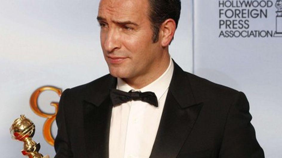 """Golden Globes 2012 : Jean Dujardin sacré """"Meilleur acteur"""""""