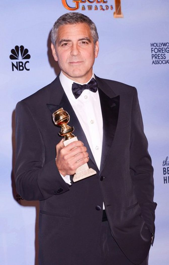 """Jean Dujardin : """"Hier soir je buvais un coup avec Clooney et Brad Pitt"""""""