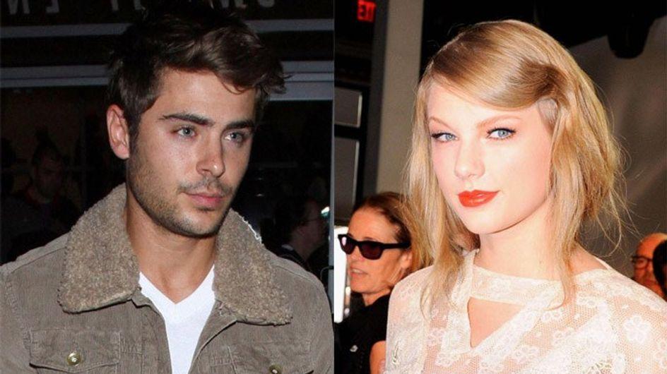 Zac Efron et Taylor Swift : Aperçus en train de flirter