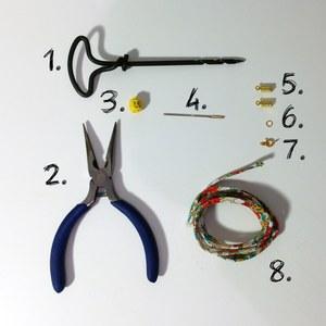 Matériel - Tuto Bracelet Liberty LEGO