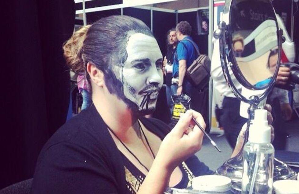 Maria Malone-Guerbaa, la maquilladora de las mil caras