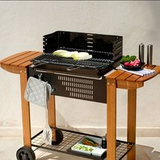 Céline a testé le barbecue Carrefour Home