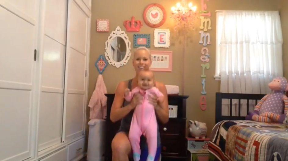 Video/ Rimettersi in forma dopo il parto? Ecco gli esercizi di Criscilla!