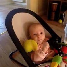 Video/ Il cane che chiede scusa al bebè, e gli riporta tutti i giocattoli rubati!
