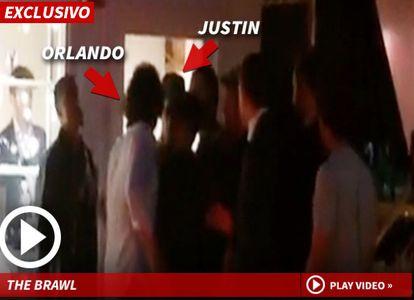 Orlando Bloom y Justin Bieber
