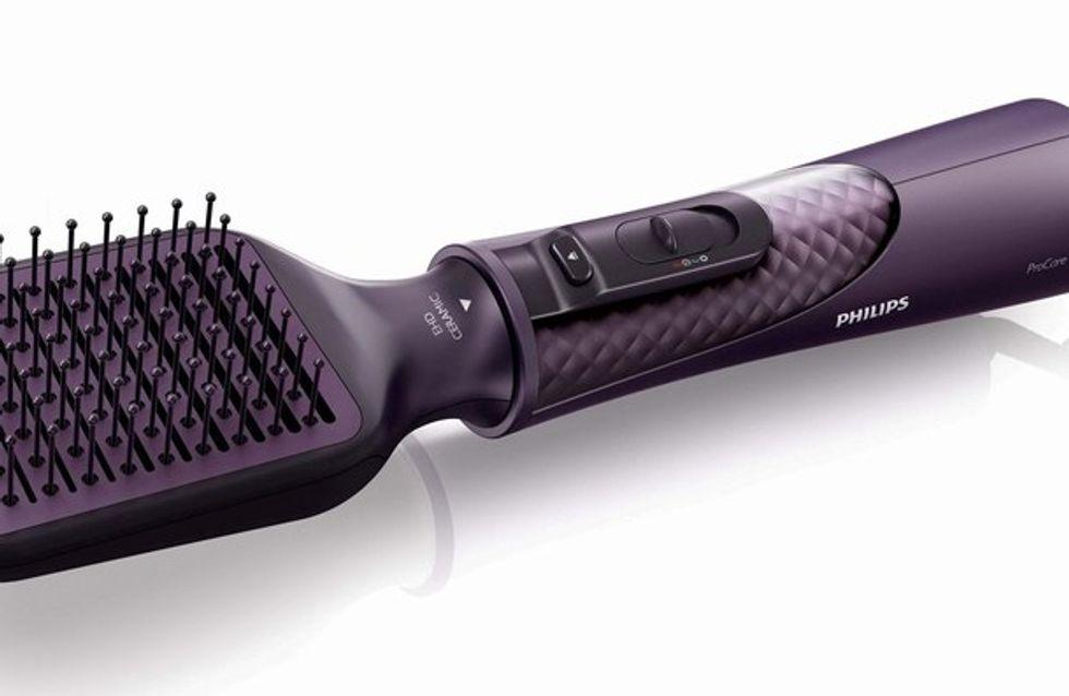 Une brosse soufflante lissante pour un brushing au top