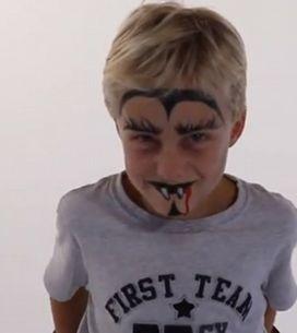 Tutoriel Maquillage Facile de Vampire Pour Enfant
