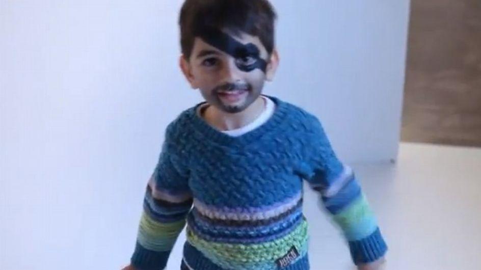 Tutoriel Maquillage Facile de Pirate Pour Enfant