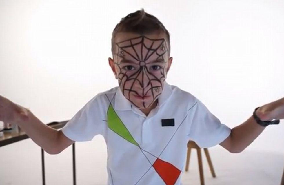 Maquillage Araignee Garcon Tutoriel Maquillage Enfant Facile Jeux