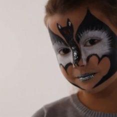 Maquillage Chauve Souris - Tutoriel maquillage enfant