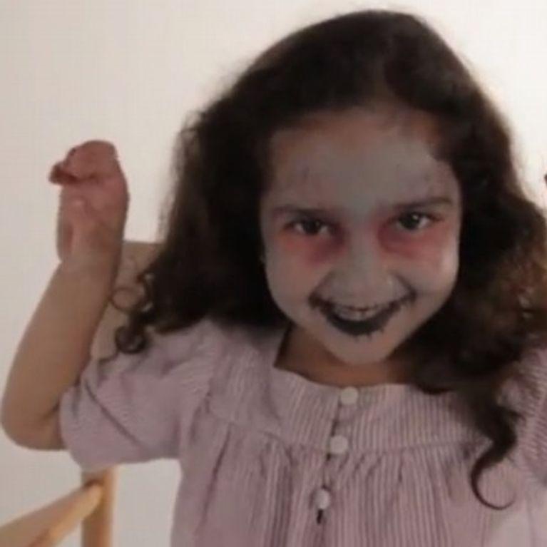 Maquillage Zombie Tutoriel maquillage enfant facile jeux