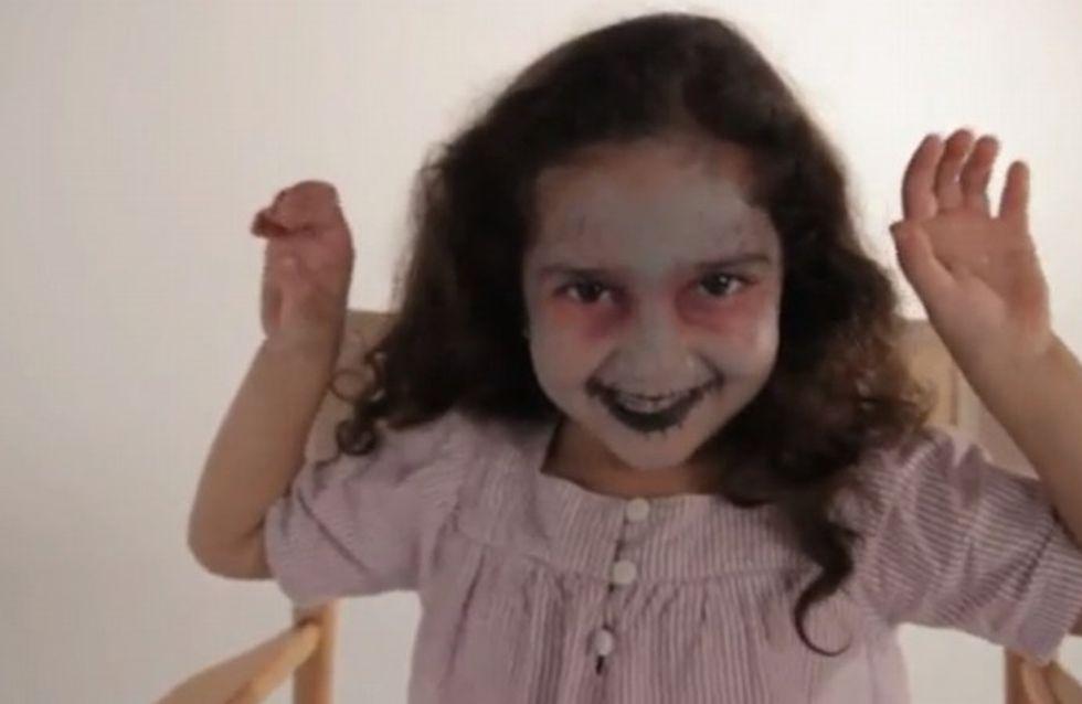 Maquillage Zombie - Tutoriel maquillage enfant