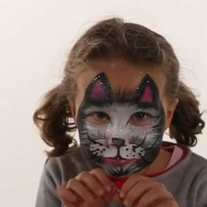 Maquillage Chat - Tutoriel maquillage enfant facile
