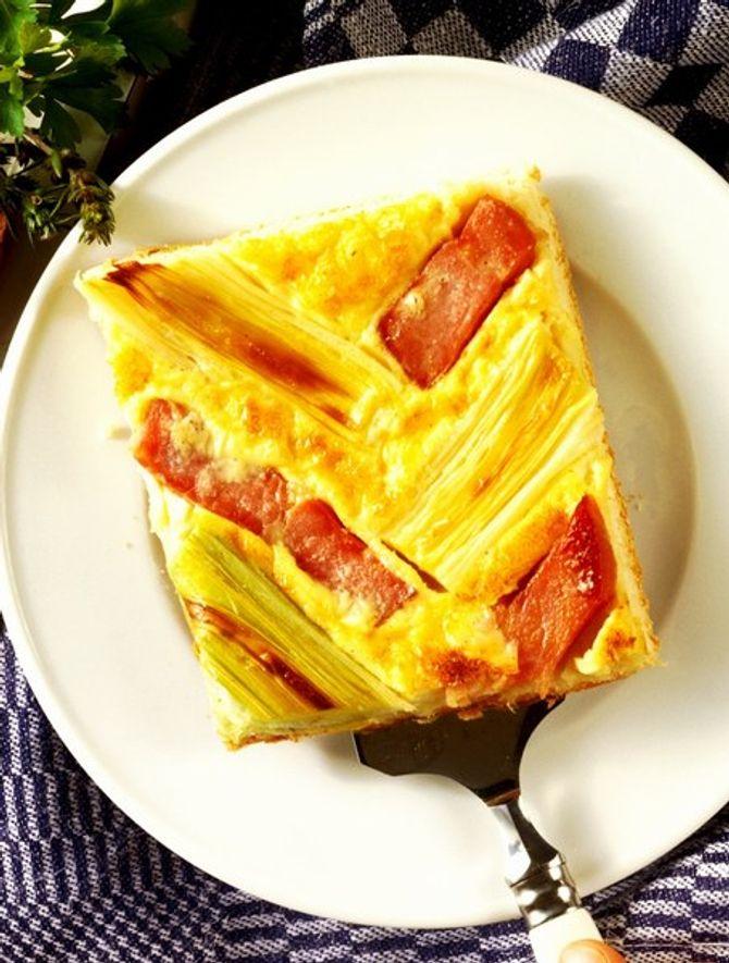 Plus qu'une omelette, une quiche sans pate
