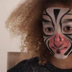 Maquillage de Zebre - Tutoriel maquillage enfant facile