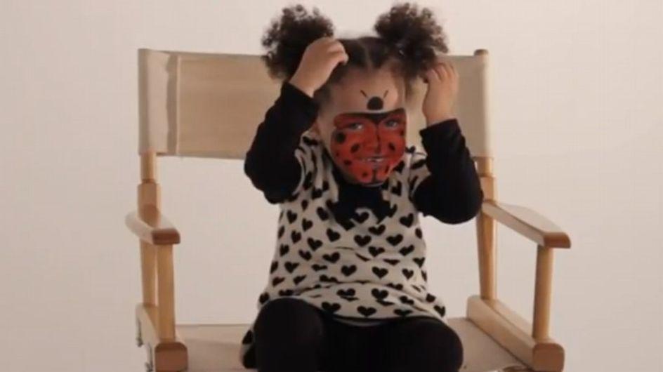 Maquillage Coccinelle - Tutoriel maquillage enfant facile