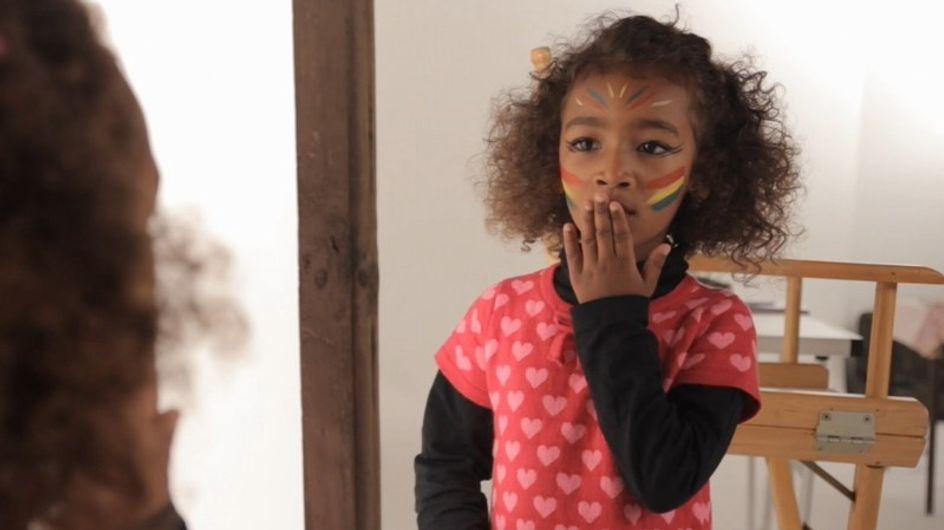 L'indienne - Tutoriel Maquillage Enfant Facile