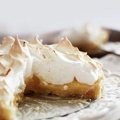 Vous la préférez meringuée ou non la tarte au citron ?